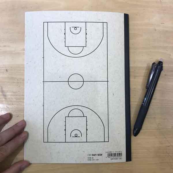 みんなの部活ノート:バスケットボール