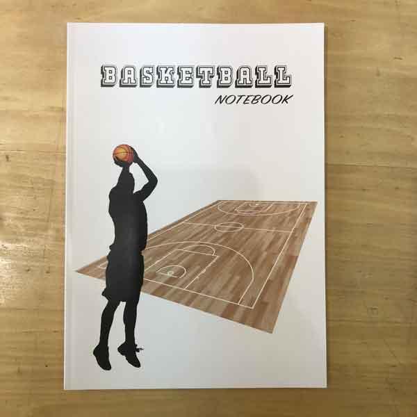 ドリームエイド バスケットボールノート(表紙)