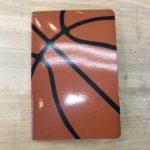 バスケットボール柄ノート