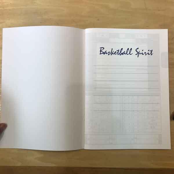 CULBサクセスバスケノート 1ページ目