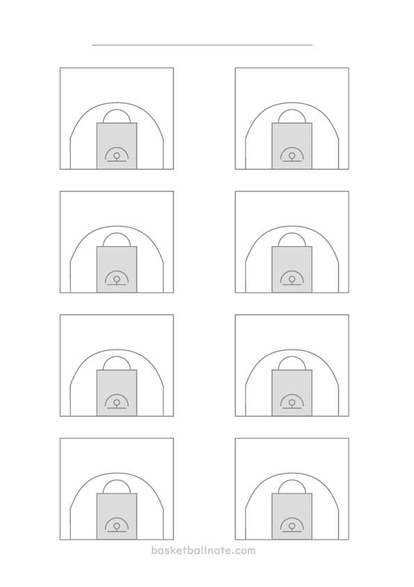 バスケットボール練習メモ